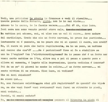 Conversazione inedita con Dario Bellezza - 2