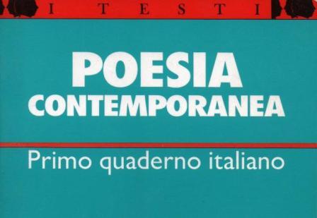 I Quaderno italiano di poesia contemporanea - 1