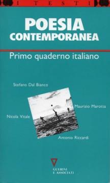 I Quaderno italiano di poesia contemporanea - 2