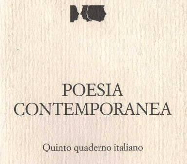 Quinto quaderno italiano di poesia contemporanea - 1