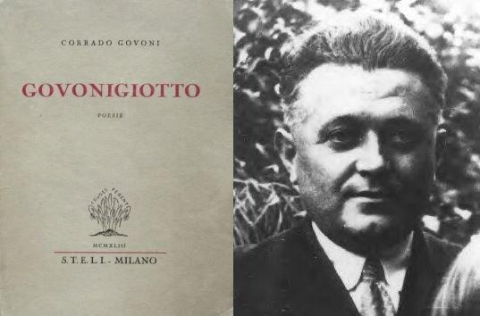 """La pioggia è il tuo vestito… (da Corrado Govoni, """"Govonigiotto"""", Steli, Milano 1943)"""