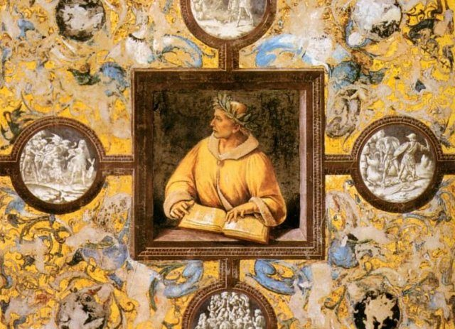Ovidio parla a un convegno