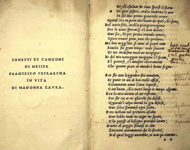 Francesco Petrarca, Più volte Amor m'avea già detto: Scrivi…