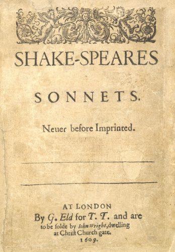 William Shakespeare, Non sono affatto come il sole gli occhi…