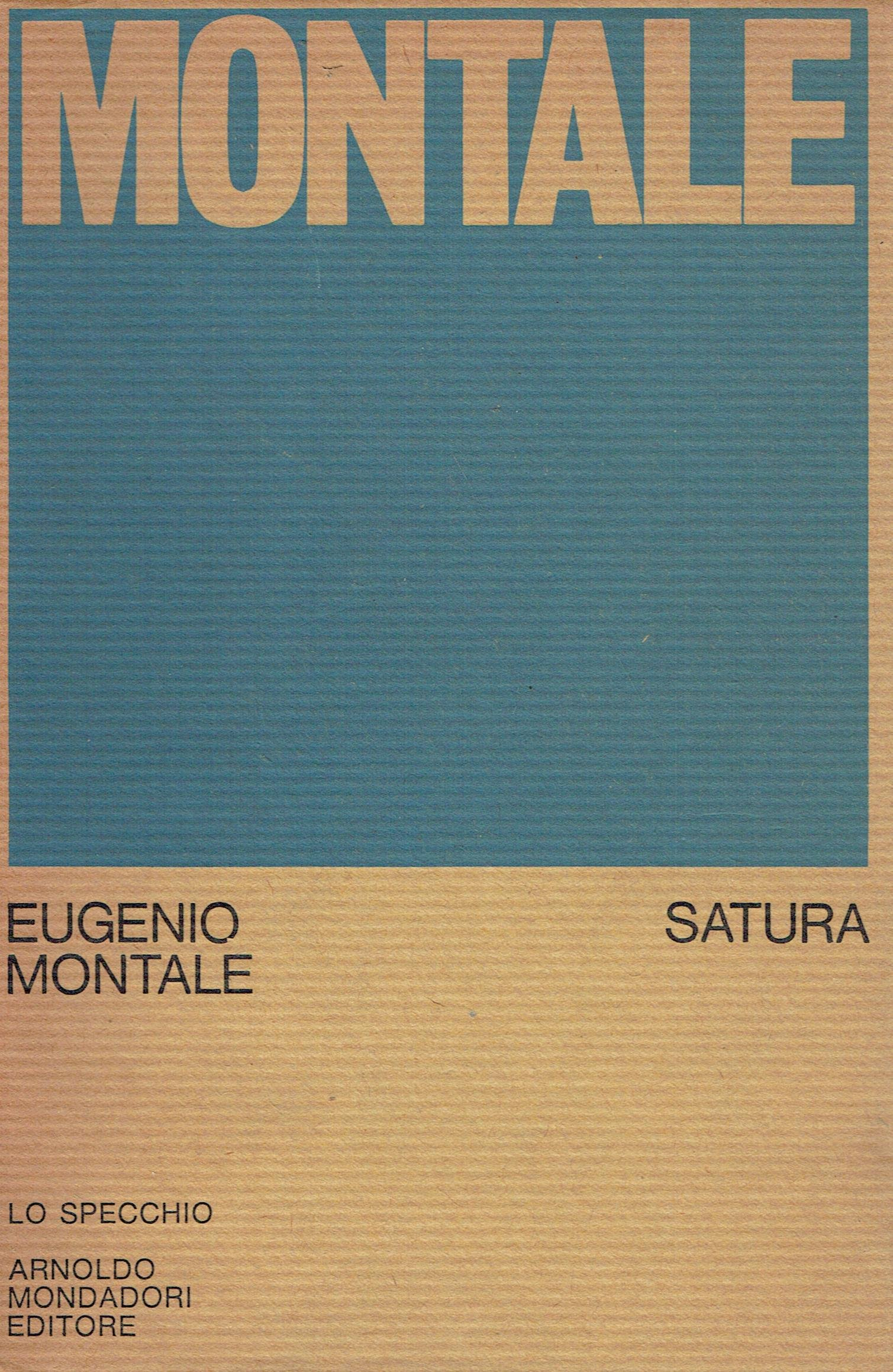 Eugenio Montale, Nel silenzio