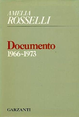 Amelia Rosselli, La passione mi divorò giustamente…