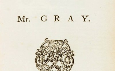 Thomas Gray, Il Bardo